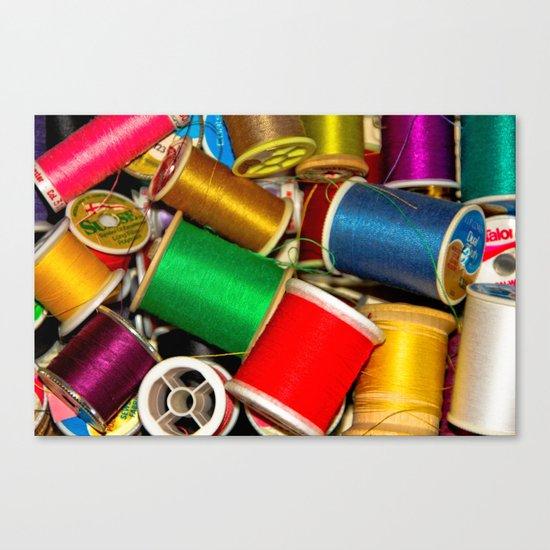 Sewing Thread Canvas Print