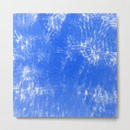 Blue Fade Metal Print