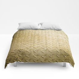 Gold Painted Metal Stylish Design Comforters