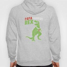 Papasaurus   Father's Day Dinosaur Hoody