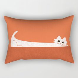 Mark's Superpower: cat Superstretch Rectangular Pillow