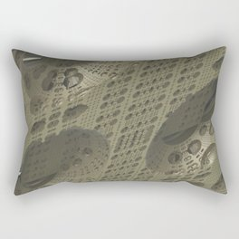 Fractal Cube Tech Rectangular Pillow
