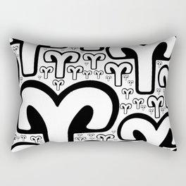 Aries-Ram on Rectangular Pillow