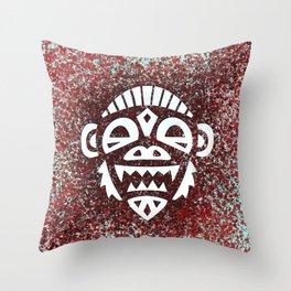 Demon Chimp Throw Pillow