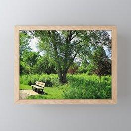A Time for Silence Framed Mini Art Print