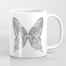 FLOWERS, FEATHERS & FLUTTERS Coffee Mug