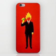 The Tragic Death of Mr. Burns iPhone & iPod Skin