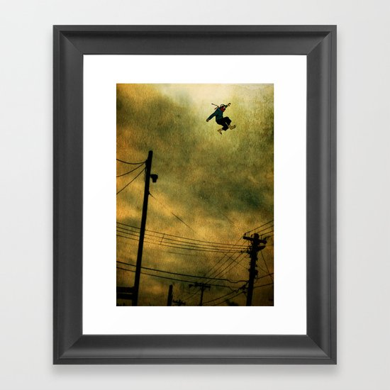 The Jumper Framed Art Print