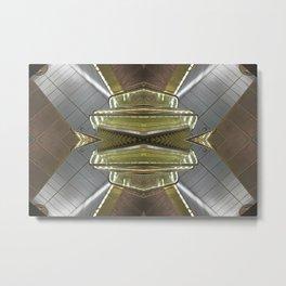 STN 0911 - digital symmetry Metal Print