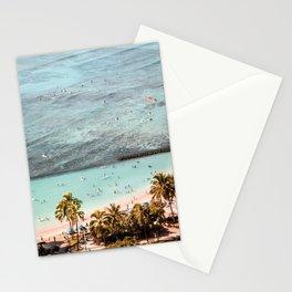 Waikiki Waves Stationery Cards