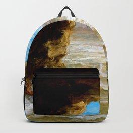 Eugene Delacroix - Shipwreck On The Coast - Digital Remastered Edition Backpack