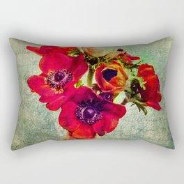 Anemoni Rossi Rectangular Pillow