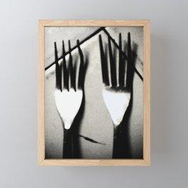 Eat More! Framed Mini Art Print