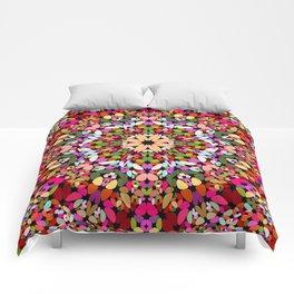 Happy Stone Kaleidoscope Mandala Comforters