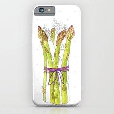 asparagus and mushrooms iPhone 6s Slim Case