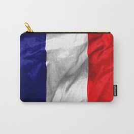 France Flag Carry-All Pouch