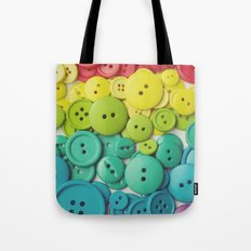 Cute as a button Tote Bag