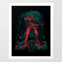 hunter Art Prints featuring Hunter by Fuacka