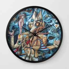 The Sea In The Fish Wall Clock