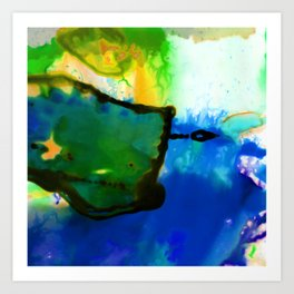 Abstract Bliss 4I by Kathy Morton Stanion Art Print