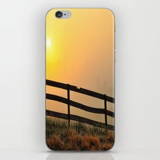 Foggy Farm iPhone & iPod Skin