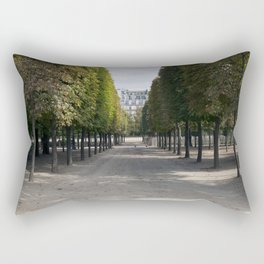 Tuileries Garden in the fall Rectangular Pillow