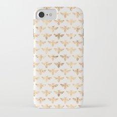 Honey Bees (Sand) iPhone 7 Slim Case