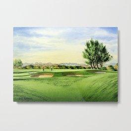 Carnoustie Golf Course Scotland 13th Green Metal Print
