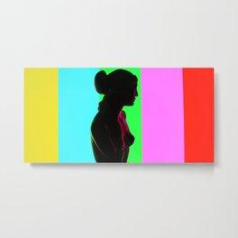 Venus De Milo (Color Bars) Metal Print