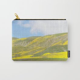 Central California Golden Fleece Daisies Super bloom Carry-All Pouch