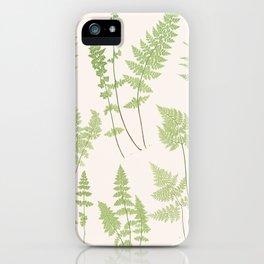 Ferns #1 iPhone Case