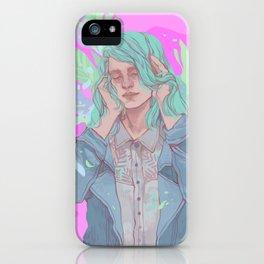 Neon Dreams iPhone Case