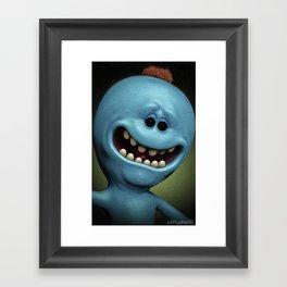 Mr Meeseeks Framed Art Print
