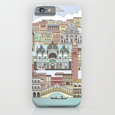 Venice City Poster Slim Case iPhone 6