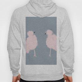 2 Pink Birds Hoody