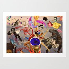 49 Art Print