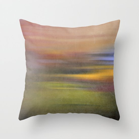 colour square Throw Pillow