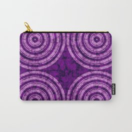 Wavy Circles Carry-All Pouch