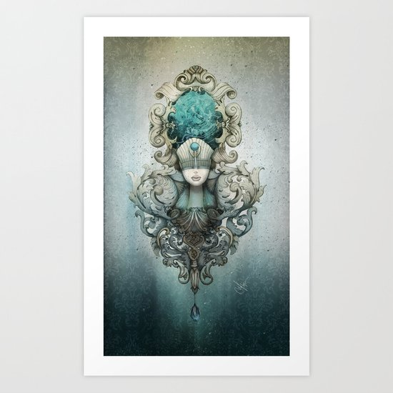 beauty is in the eye of the beholder Art Print