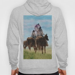 Cheyenne Warriors on the Great Plains - American Indians Hoody