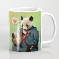 Wise Panda: Love Makes the World Go Around! Mug