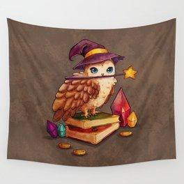 Owl Magic Wall Tapestry