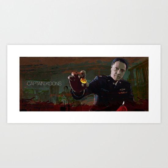 Captain Koons Art Print
