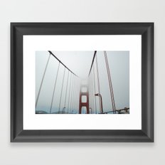 San Francisco Fog Framed Art Print