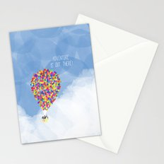 ADVENTURE IS OUT THERE! Stationery Cards