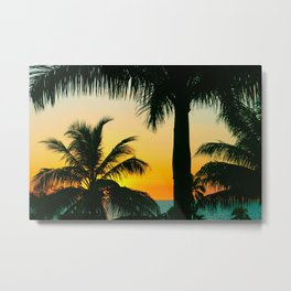 Tropical Afternoons Metal Print