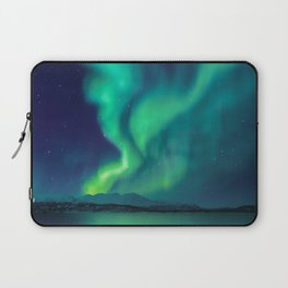 Aurora Borealis Lights Up the Sky (Northern Lights) Laptop Sleeve