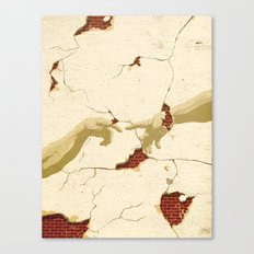 Fragility of Faith Canvas Print