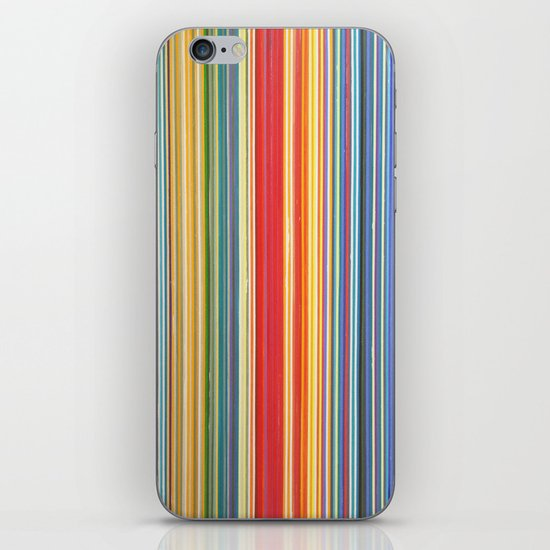 STRIPES 9 iPhone & iPod Skin