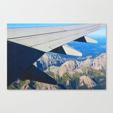 Airplane Wing Canvas Print